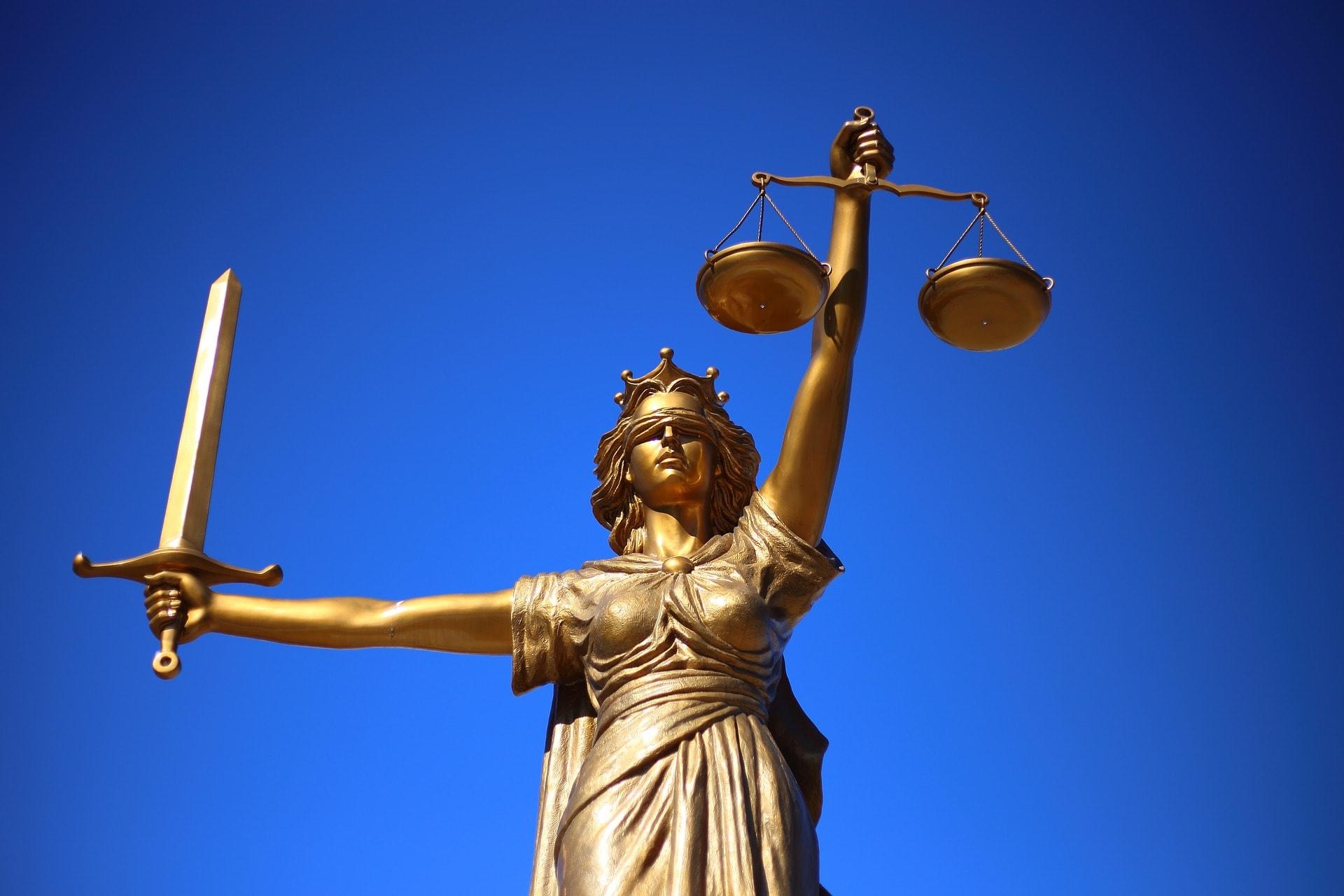 Lady Justice Figure